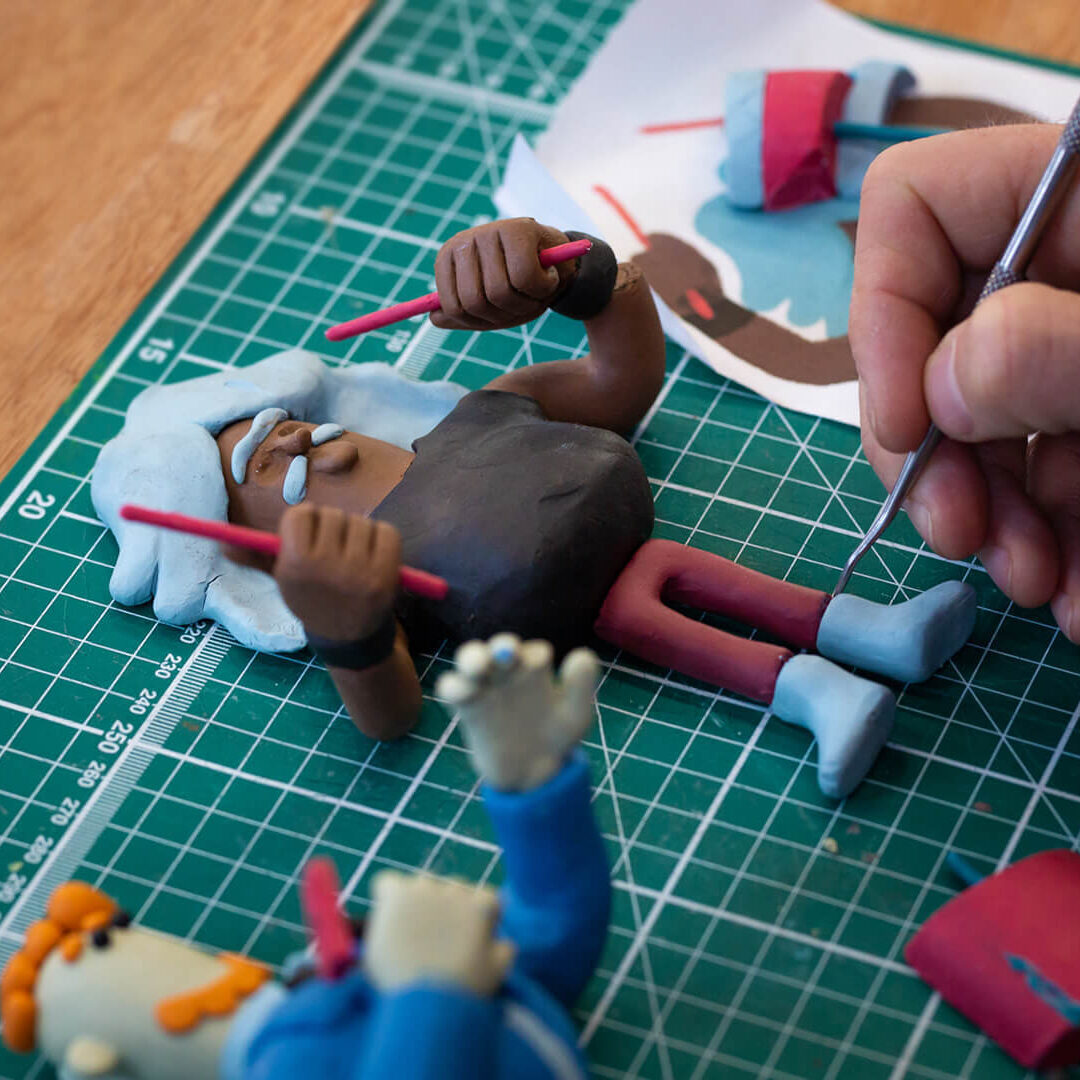 Creating Claymation Characters 02